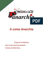 A Come Anarchia
