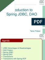 Spring JDBC(1)