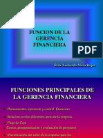 1. 1 Funcion Gerencia Finan