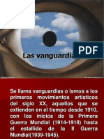 Presentacion de Vanguardias