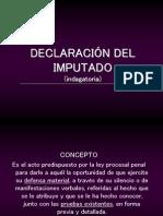 Powerpoint Declaracion Del Imputado