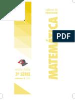 Caderno do Professor - Matemática - 2009 - 3ªSérie - EM - Volume 4