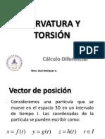 3-CURVATURA Y TORSIÓN