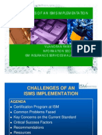 Vijay_Challenges of an ISMS Implementation