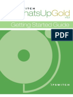 WhatsUp Gold v12.3.1 Getting Started Guide