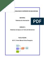 UNIDAD 5.- Sistemas de Toma de Decisiones