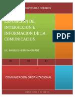 Comunicacion e Interaccion de La Comunicacion