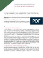 Presion y Estatica de Los Fluidos Un Inicio de Modelizacion