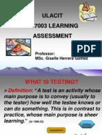 Pres. 1 Testing