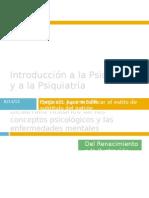 Introducción a la Psicología y a la
