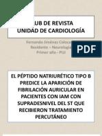 BNP como marcador de fibrilacion auricular