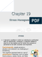 Organizational Behaviour Stress