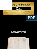Scc Sovereignty of God