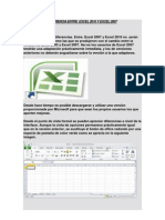 Excel 2010 vs Excel 2007