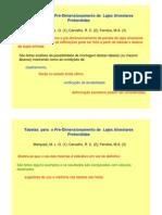 aula11_tabelas  para  o pré-dimensionamento de  lajes alveolares protendidas