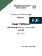 """Plan estrategico UNMSM-TM """"Integrando Tecnologia Medica"""""""