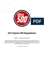 2012 Kyoto 500 Rules Book