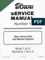 merc service manual 23 454 502 engines gasoline internal rh scribd com Mercruiser Wiring-Diagram Mercruiser Sterndrive Parts