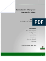 Sistematización del Programa Escuela Activa Urbana