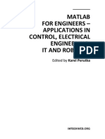 Matlab for Engineers Applications in Control Electrical Engineering It and Robotics 7526