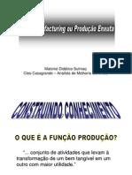 Lean Manufacturing - Produ--o Enxuta