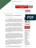2003 10 Temas Para o Empreendedor, OESP