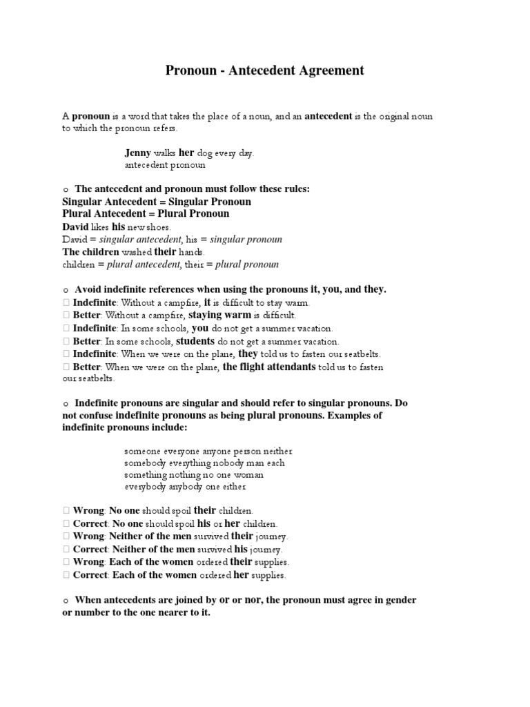 Uncategorized Pronouns And Antecedents Worksheets worksheet singular pronouns queensammy worksheets for elementary lecture 1 pronoun antecedent agreement pronoun