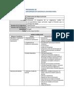 Taller Formativo 3 Mapa Curricular Optimizacion