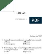 Latihan Soal SIM Semester 2 Part2
