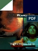 Planetarium Brochure