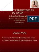 Anatomia y Patrones de Rx de Torax
