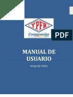 Manual Del Sistema de Hoja de Vida