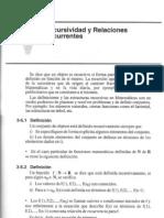 3-5 Recursividad y Relaciones Recurrentes