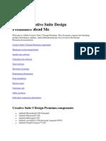 Creative Suite 5 Design Premium Read Me