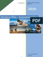 Business Plan - SME Tourism Venture (Tourism Industry Management)