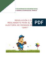 """RESOLUCIÓN C.D. 333  REGLAMENTO PARA EL SISTEMA DE AUDITORÍA DE RIESGOS DEL TRABAJO -  """"""""SART"""""""""""
