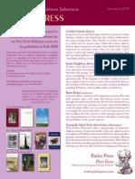 FreeVerse Press Release 2008