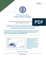 """Informe de """"Elementos de Calidad de la Educación Superior en Colombia"""" 2011"""