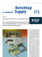 Digital Benchtop Power Supply Part 1