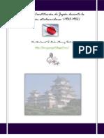 La Constitución de Japón durante la ocupación estadounidense (1945-1952)