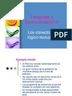 Conectores de lenguaje