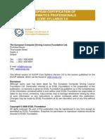 EUCIP Core Syllabus Version 3.0