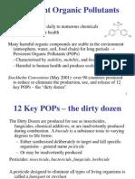 POPs & DDT