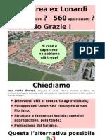 Volantino Ex Area Lonardi - Proposte PD