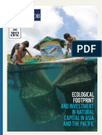 Ecological Footprint and Investment in Natural Capital in Asia and the Pacific_ADB_WWF