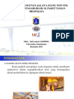 Presentasi Sidang Proyek Pembangunan Jalan Layang-Inti