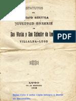 Reglamento Sindicato 1919