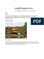 Temples Asia