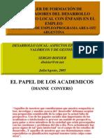 Desarrollo Local-Aspectos Epistemicos Valoricos y de Gestion-SergioBoisier