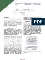 Wideband Micromachined Patch Antenna